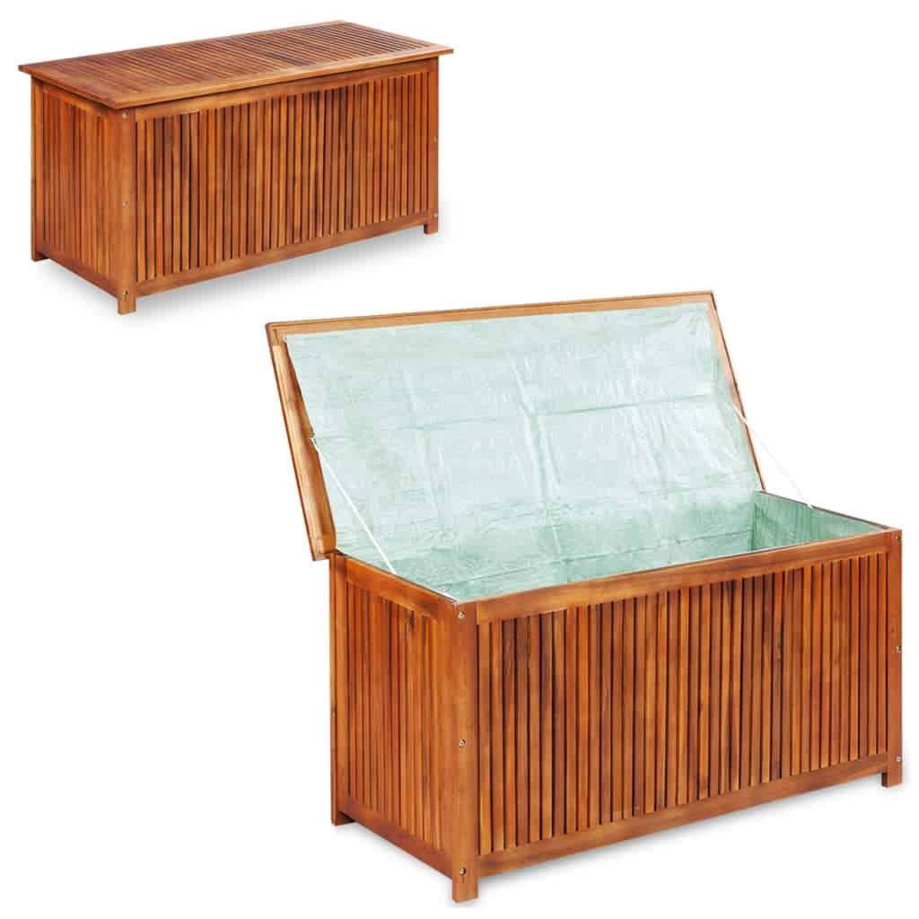 Aufbewahrungsbox Garten Genial Garten Aufbewahrungsbox 150x50x58 Cm Massivholz Akazie