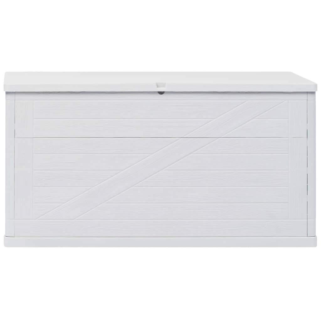 garten aufbewahrungsbox 420 l hellgrau