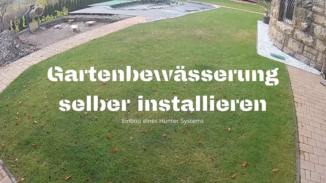 Bewässerungsanlage Garten Neu Plan and Install Hunter Lawn Irrigation Yourself