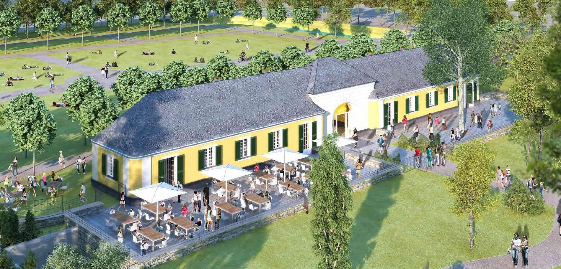Botanischer Garten Bonn Reizend Remise Am Poppelsdorfer Schloß Wird Umgebaut Neuer Eingang