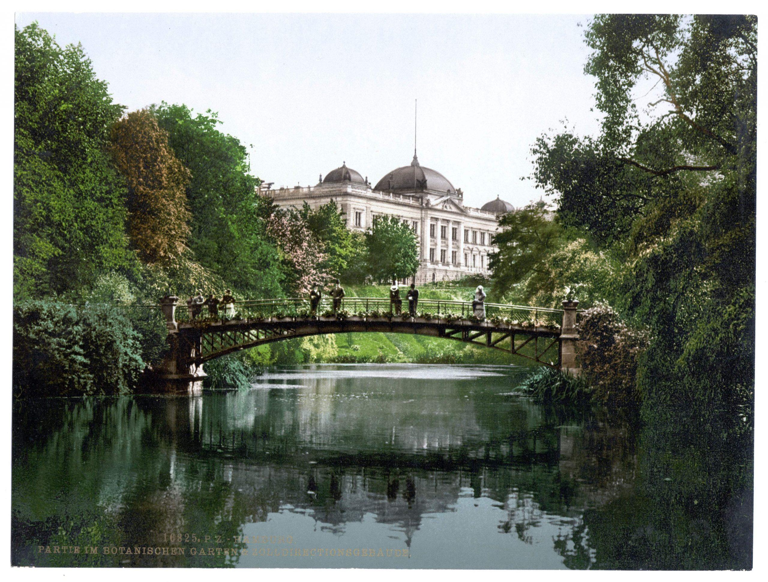 Botanischer Garten Hamburg Das Beste Von Hamburg Partie Im Botanischen Garten & Zolldirectionsgebäude