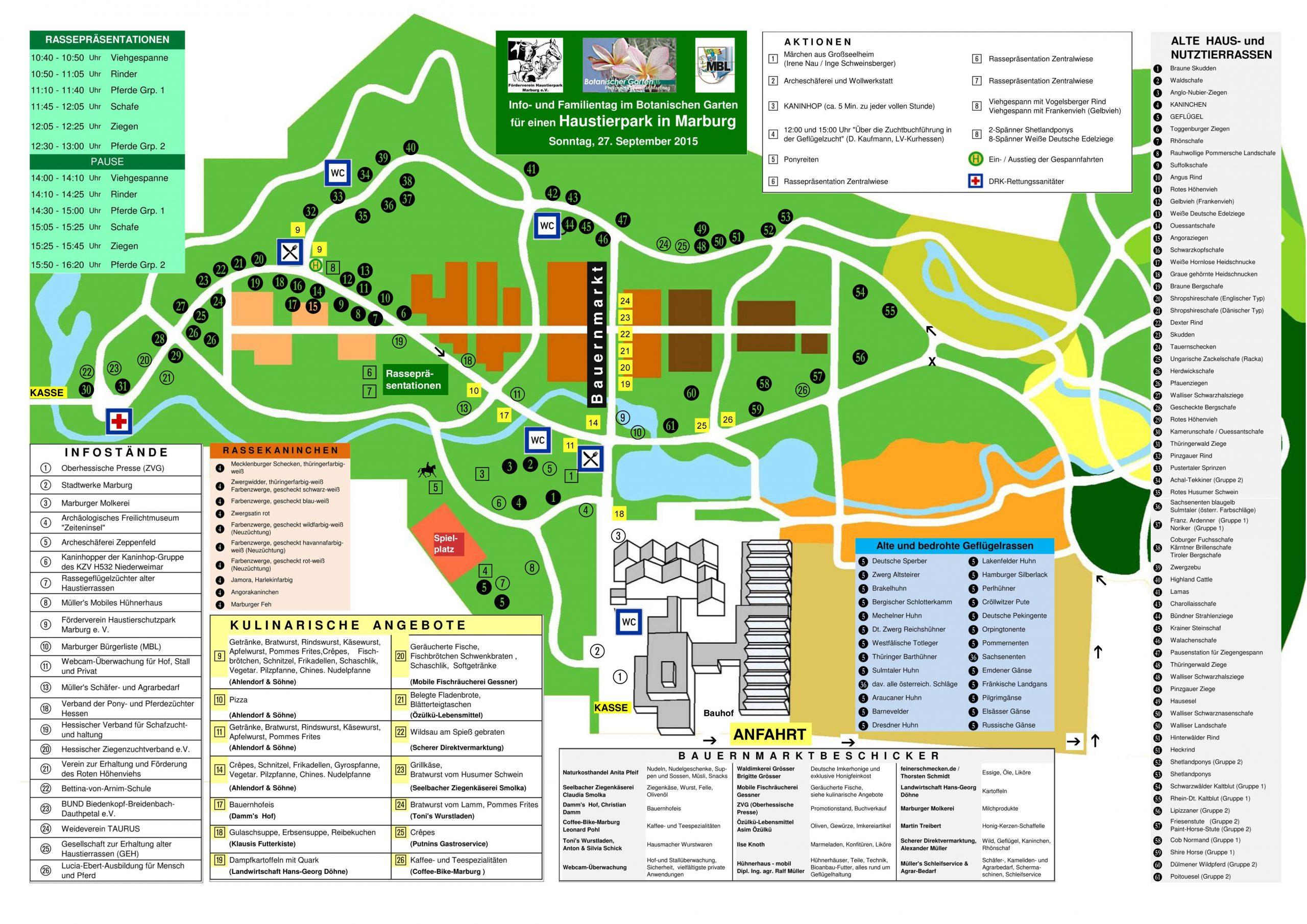 Botanischer Garten Marburg Schön Wo Finde Ich Was Beim Info Und Familientag