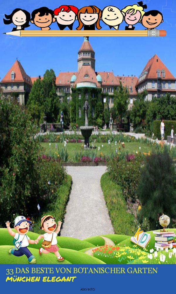 Botanischer Garten München Neu Botanischer Garten In München