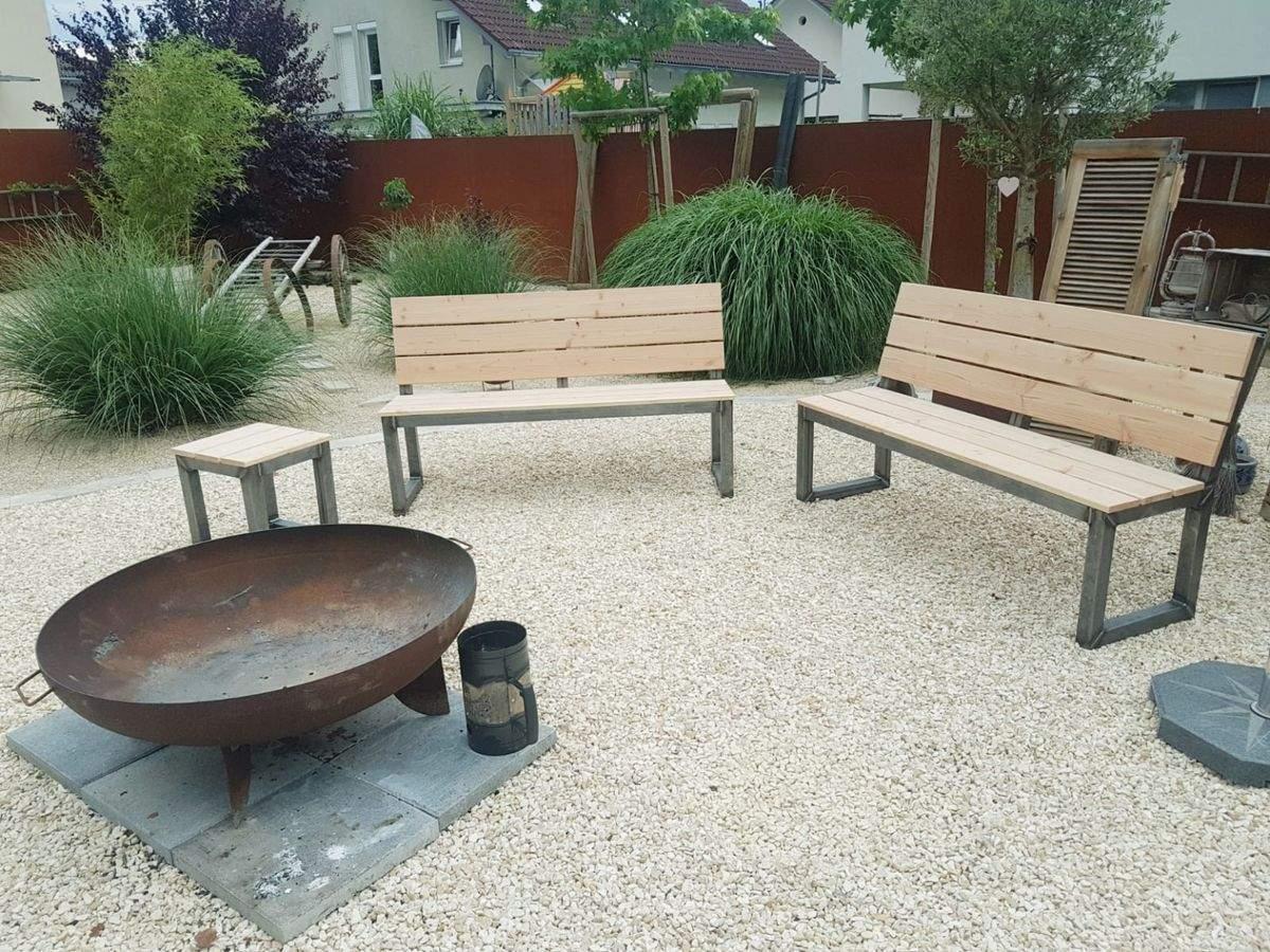 Feuerstelle Im Garten Schön Gartenbank Sitzbank Feuerstelle In 6850 Dornbirn Für € 380