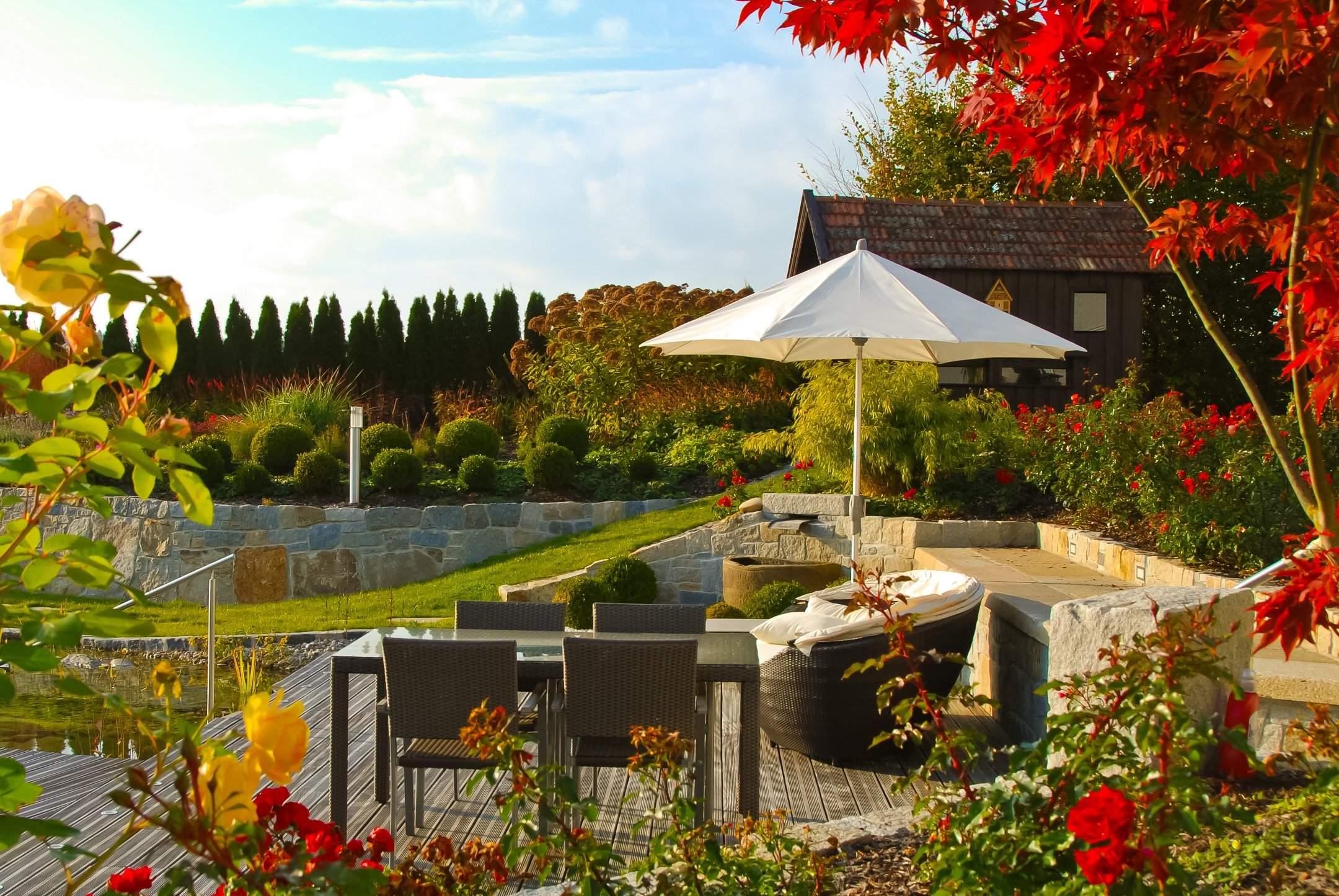 Garten König Luxus Garten König