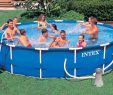 Garten Pool Intex Einzigartig Details Zu Intex Metal Frame Pool Komplett Set 457x84 Eco Gs
