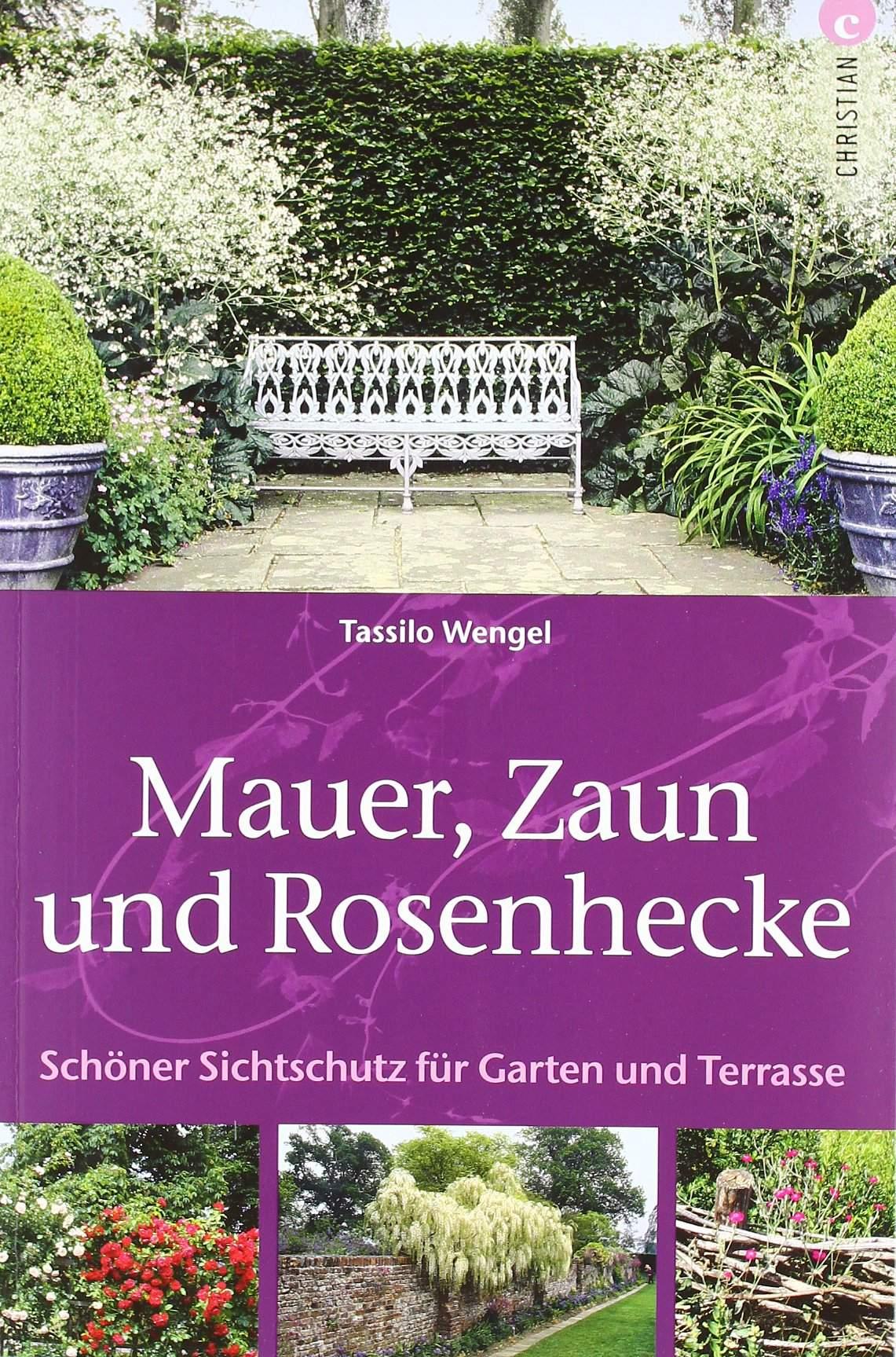 Garten Sichtschutz Das Beste Von Mauer Zaun Und Rosenhecke Schöner Sichtschutz Für Garten