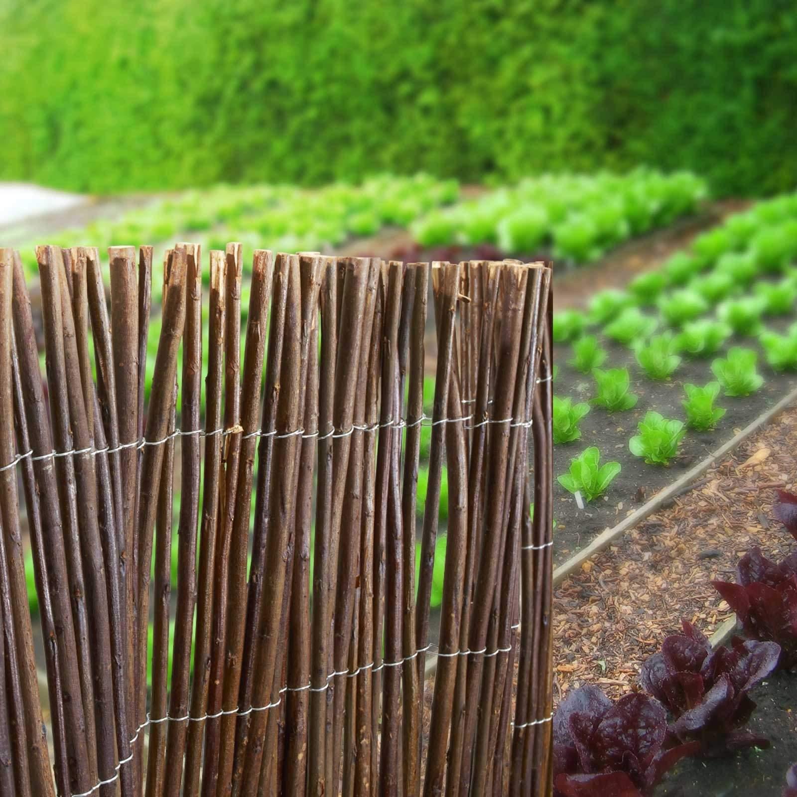 Garten Sichtschutz Einzigartig Casa Pura Weidenzaunmatten