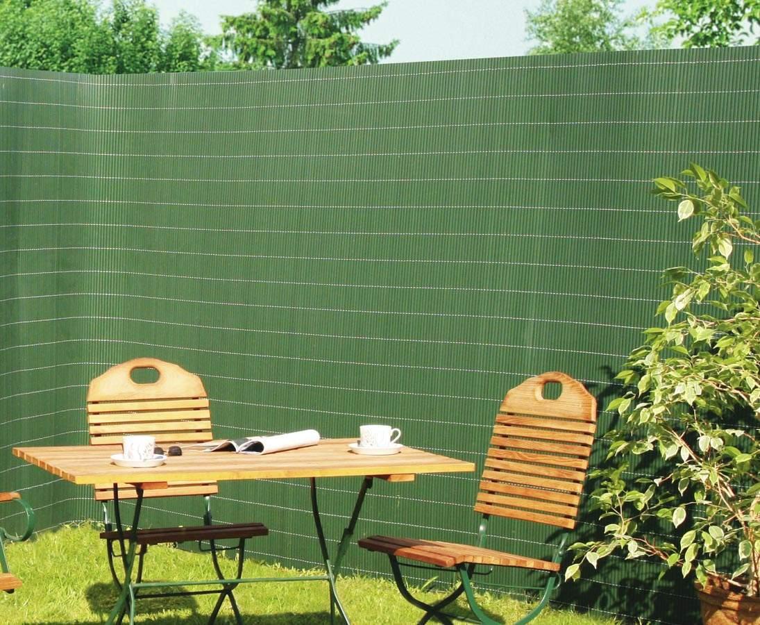 kunststoffmatte garten sichtschutz sylt 300cm gruen p 215