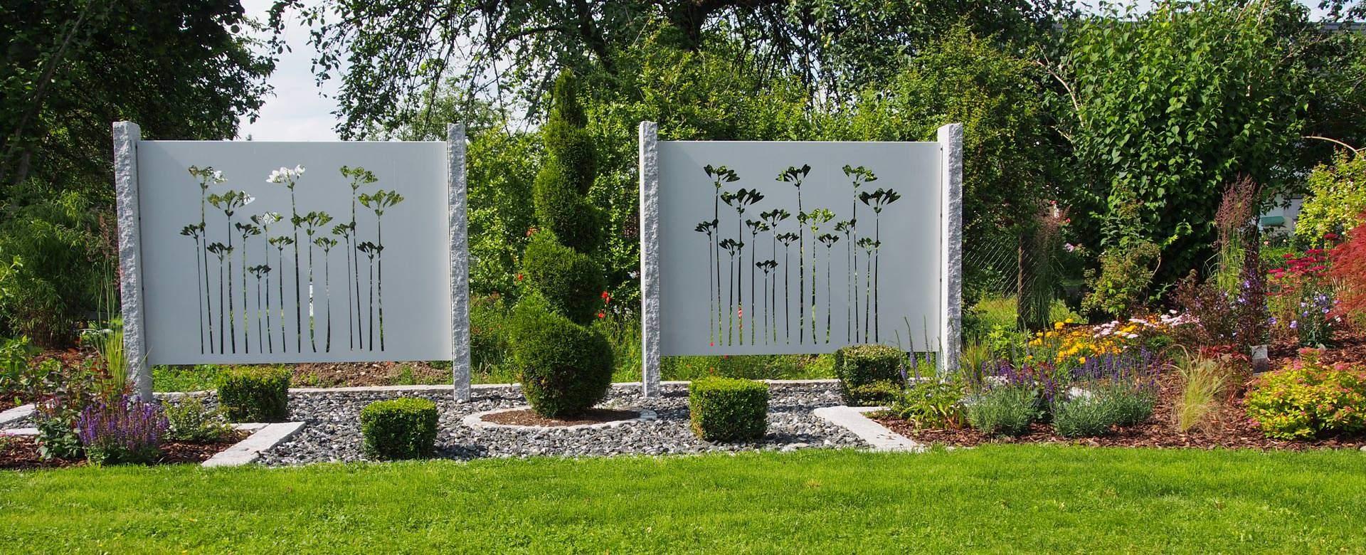 Garten Sichtschutz Elegant Sichtschutz Aus Metall Ganz Individuell Tiko Metalldesign