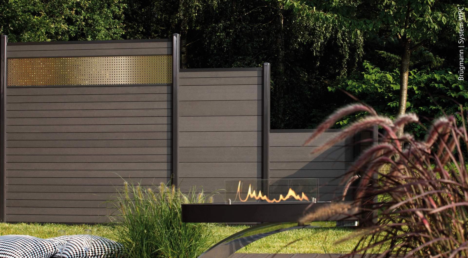 Garten Sichtschutz Elegant Wpc Zäune – Der Sichtschutz Ohne Pflegeaufwand Holz Roeren Gmbh