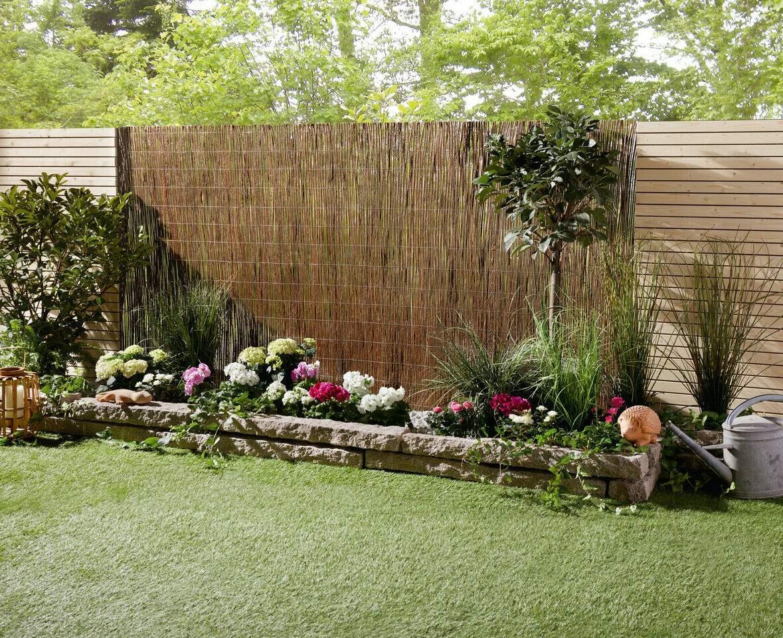"""Garten Sichtschutz Inspirierend Sichtschutz Weide"""" 300 X 150 Cm Zaun Matte Windschutz Garten Deko Blumen Beet"""
