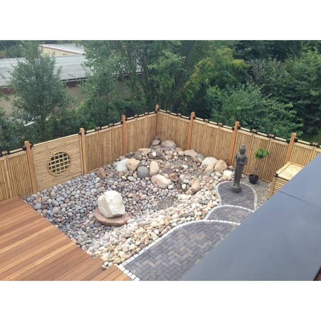 Garten Sichtschutz Schön Bambus Sichtschutz Garten Zaun Gartenzaun Windschutz Bambuszaun Anji Nigra Serie