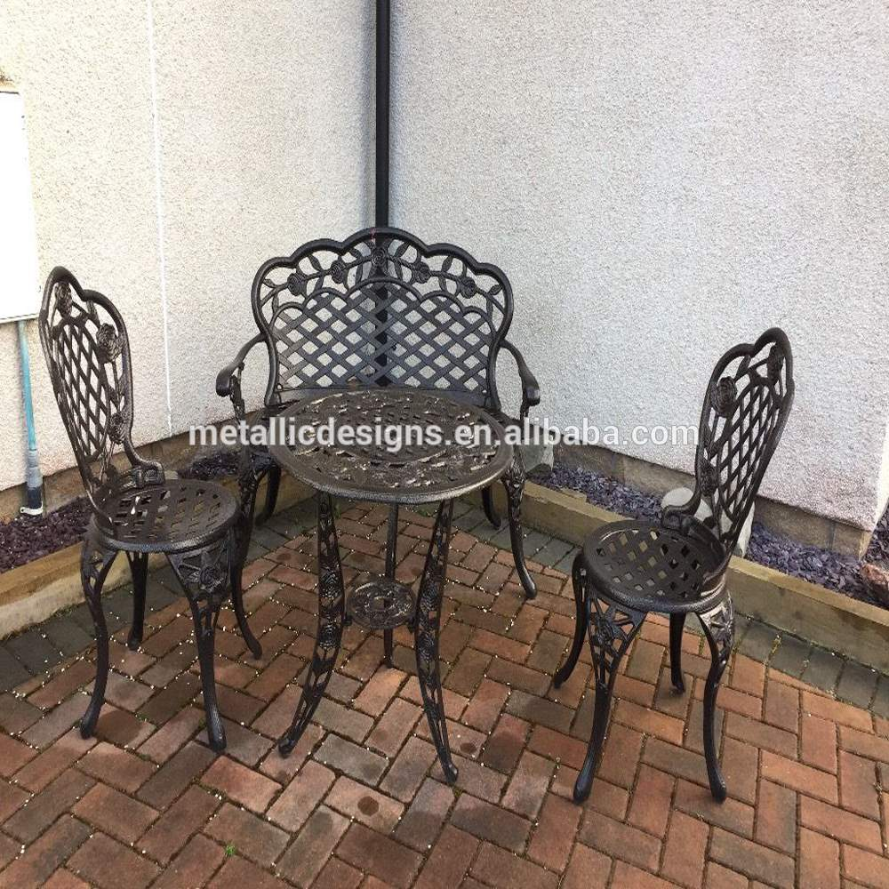 Furniture Metal Chair Garden Cast Aluminum Chair