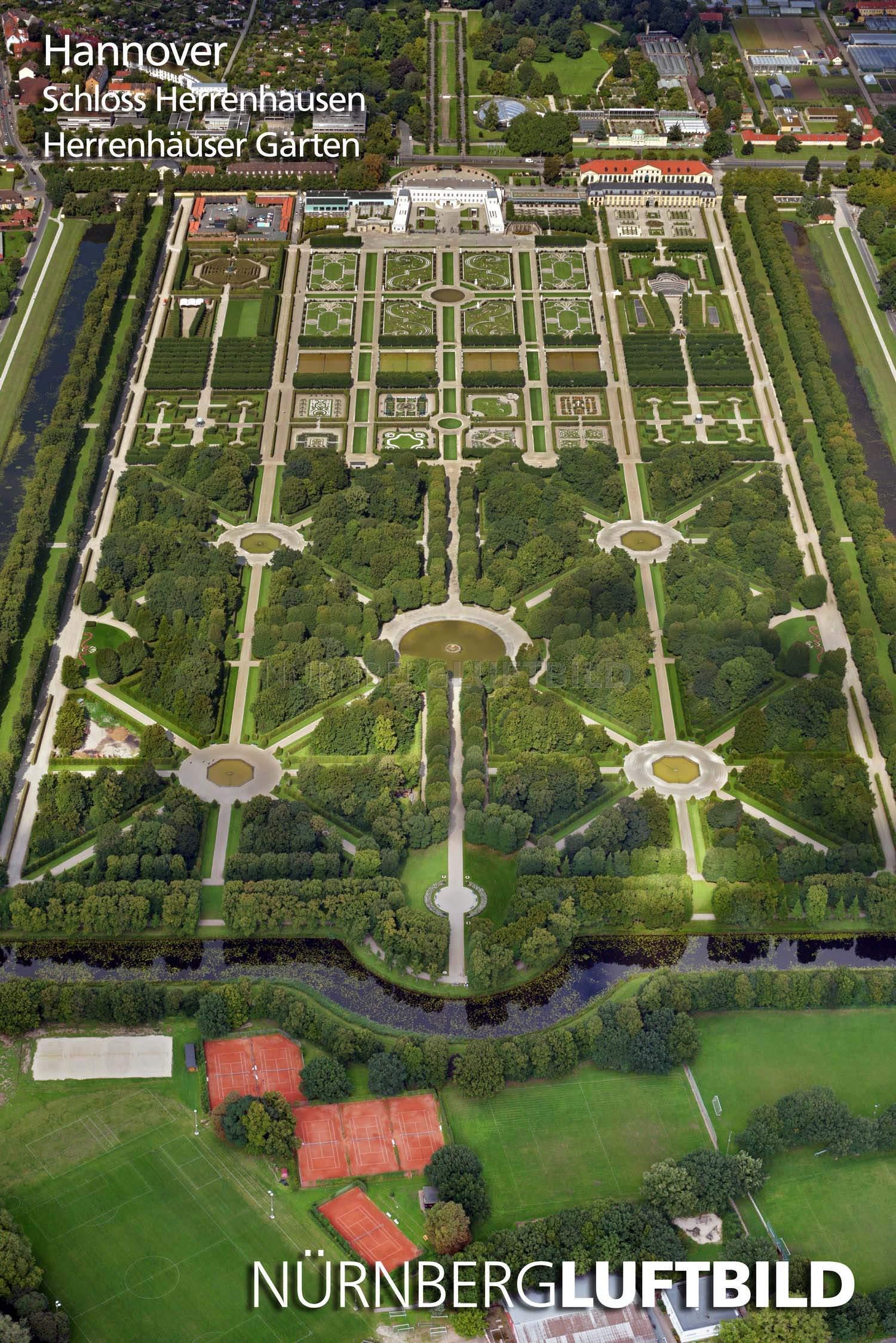 Herrenhäuser Gärten Elegant Schloss Herrenhausen Herrenhäuser Gärten Luftaufnahme