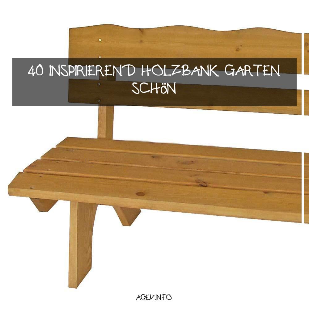 Holzbank Garten Reizend Holzbank Brixen Für Garten