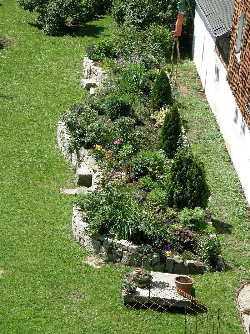 Mein Schöner Garten forum Schön Zeigt Ihr Mir Eure Trockenmauern Seite 2