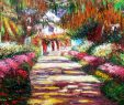 Monet Garten Luxus Claude Monet Pfad In Monet´s Garten D 60x90cm