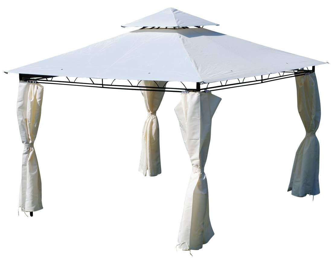 Pavillon Garten Das Beste Von Eleganter Garten Pavillon 3×3 Meter Dach Wasserdicht Uv30 9m² Mit 4 Vorhängen Quadratisch Modell 7075 3×3
