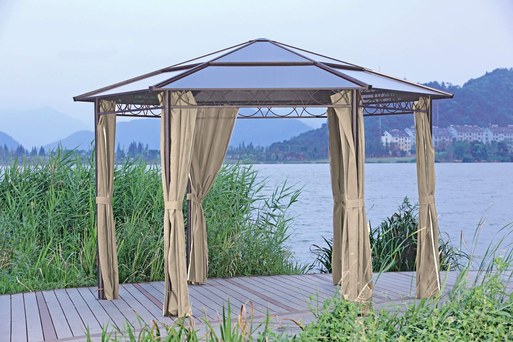 Pavillon Garten Elegant Details Zu Alu Pavillon 6 Eckig 2m Gartenzelt Partyzelt Garten Zelt Festzelt überdachung