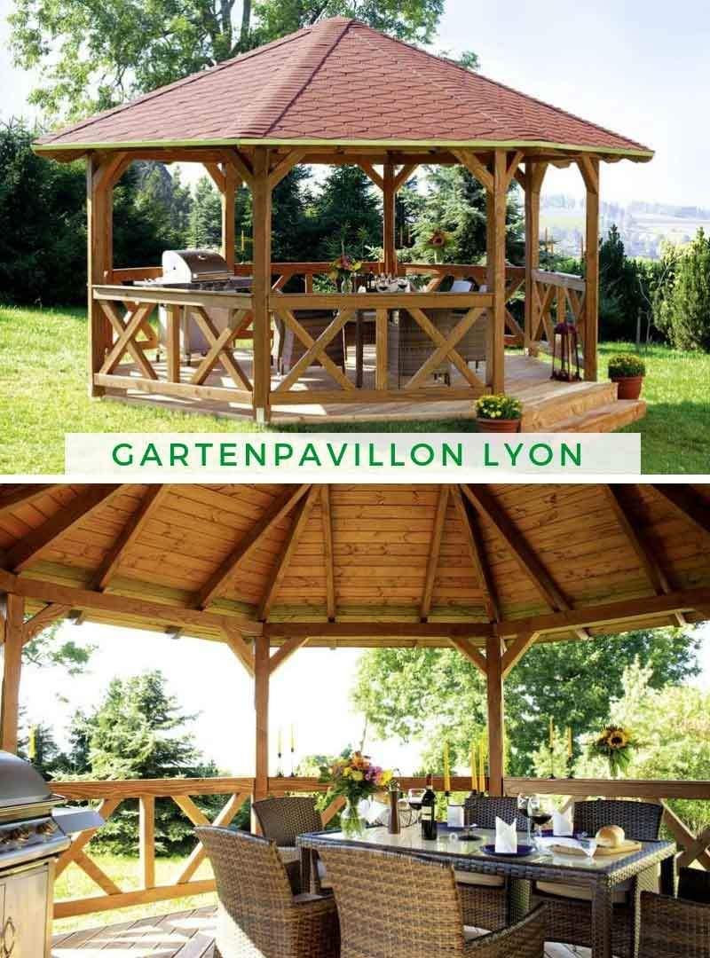 Pavillon Garten Inspirierend Gartenpavillon Lyon 2 Douglasie