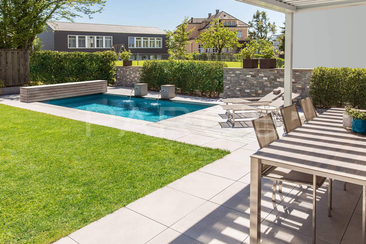 5 Swimming Pool Pergola Garten