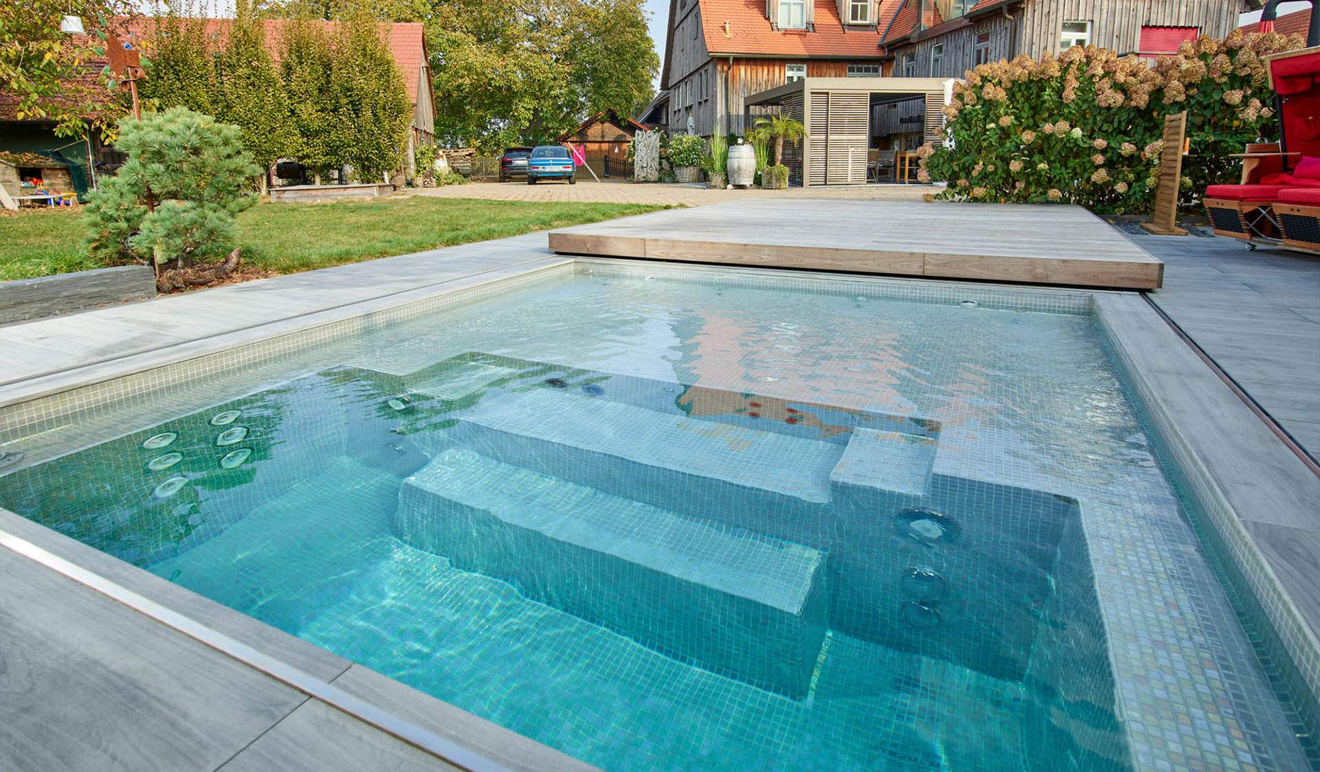 Pool Im Garten Frisch Pools Whirlpools Und Duschen Für Draußen – Kupkagarten Aus
