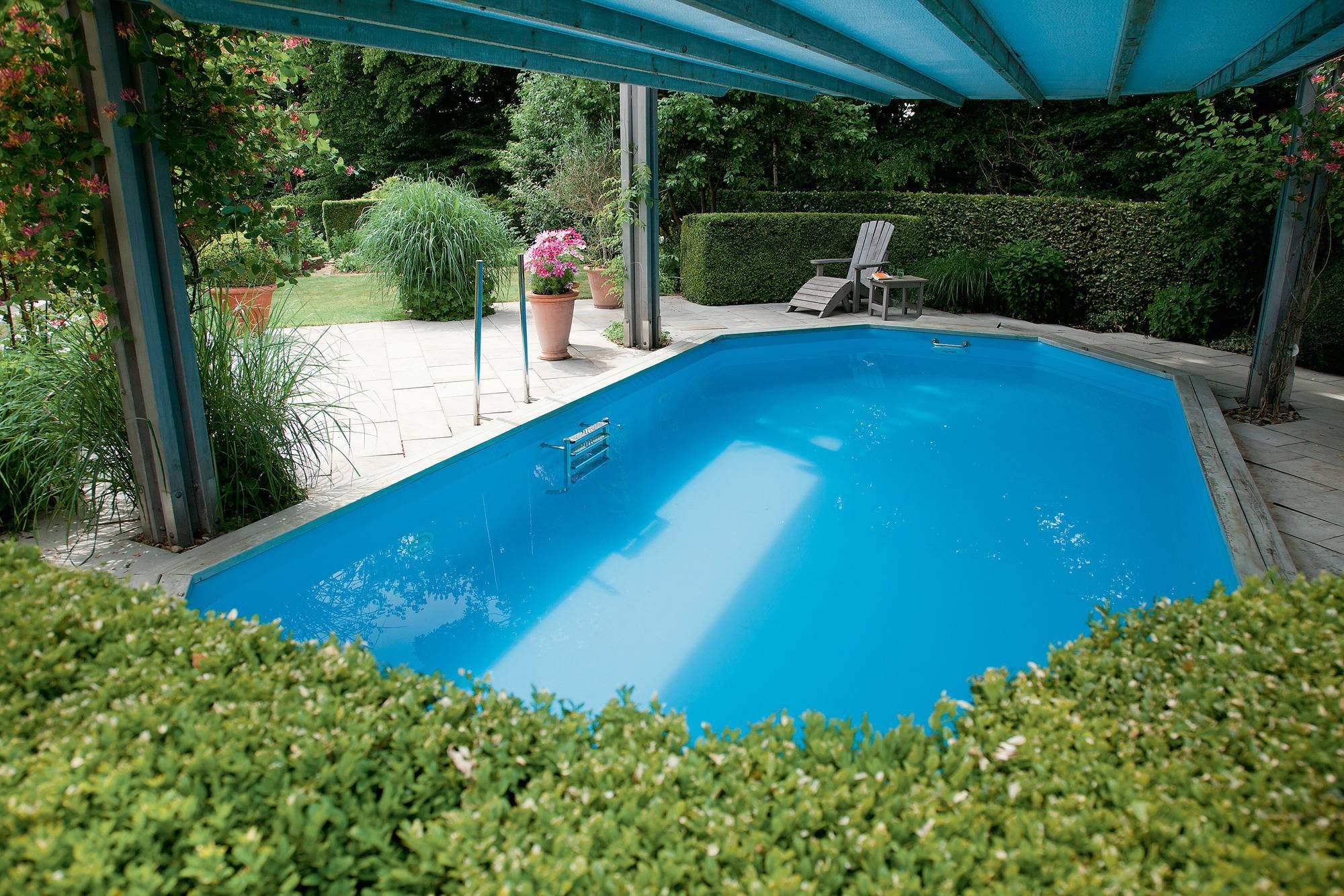 Pool Im Garten Genial Schwimmen Auf Engem Raum Pools In Kleine Gärten Bauen