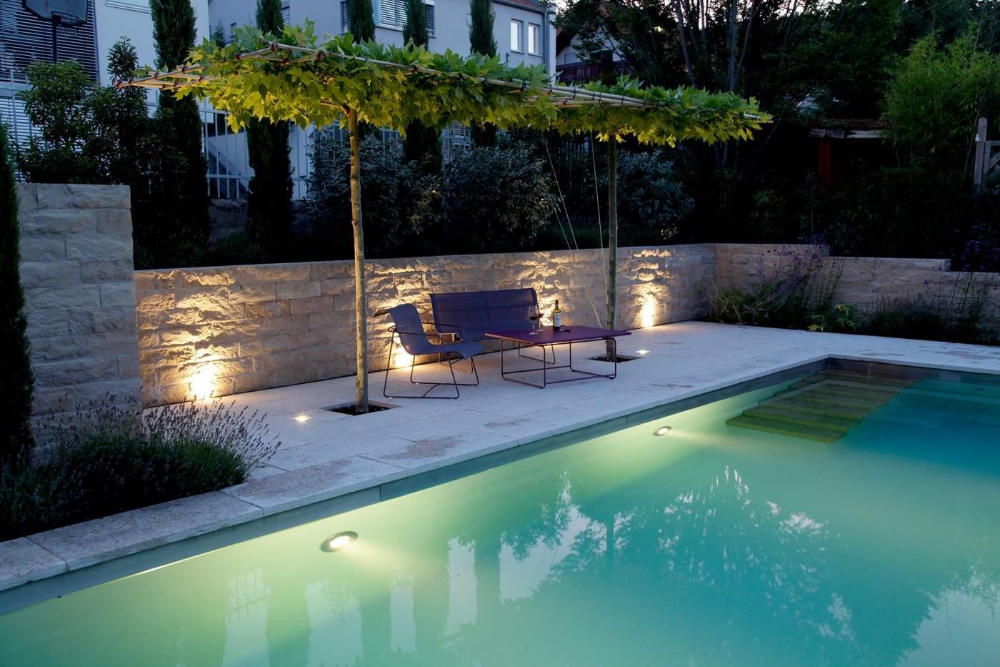 Pool Im Garten Inspirierend Mediterraner Garten Mit Living Pool In Würzburg Referenzen