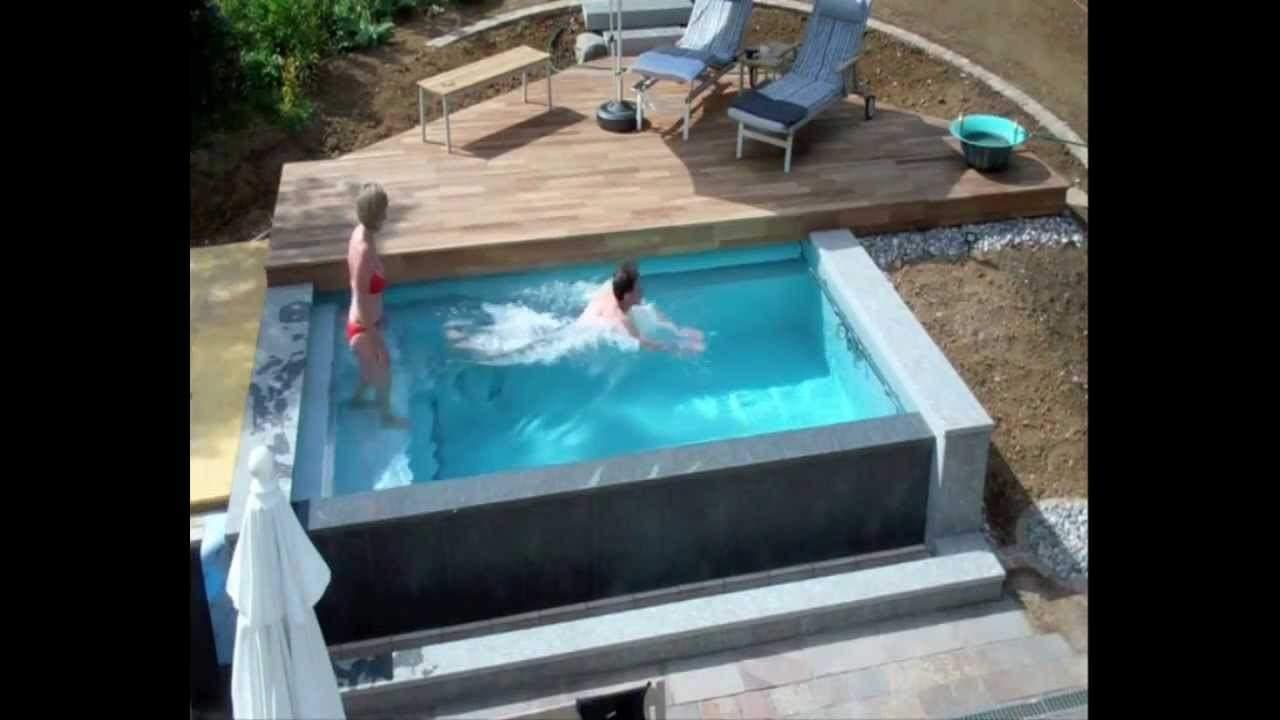 Pool Im Garten Luxus Schwimmbadbau Dokumentation Eines Pool Im Garten Im Zeitraffer