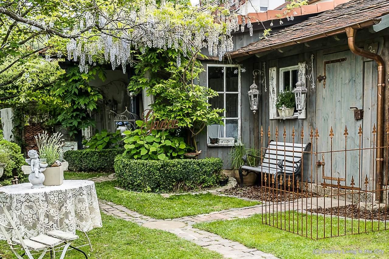 Schöne Gärten Genial Nostalgie Home – Ein Zauberhafter Shabby Garten In Der Pfalz