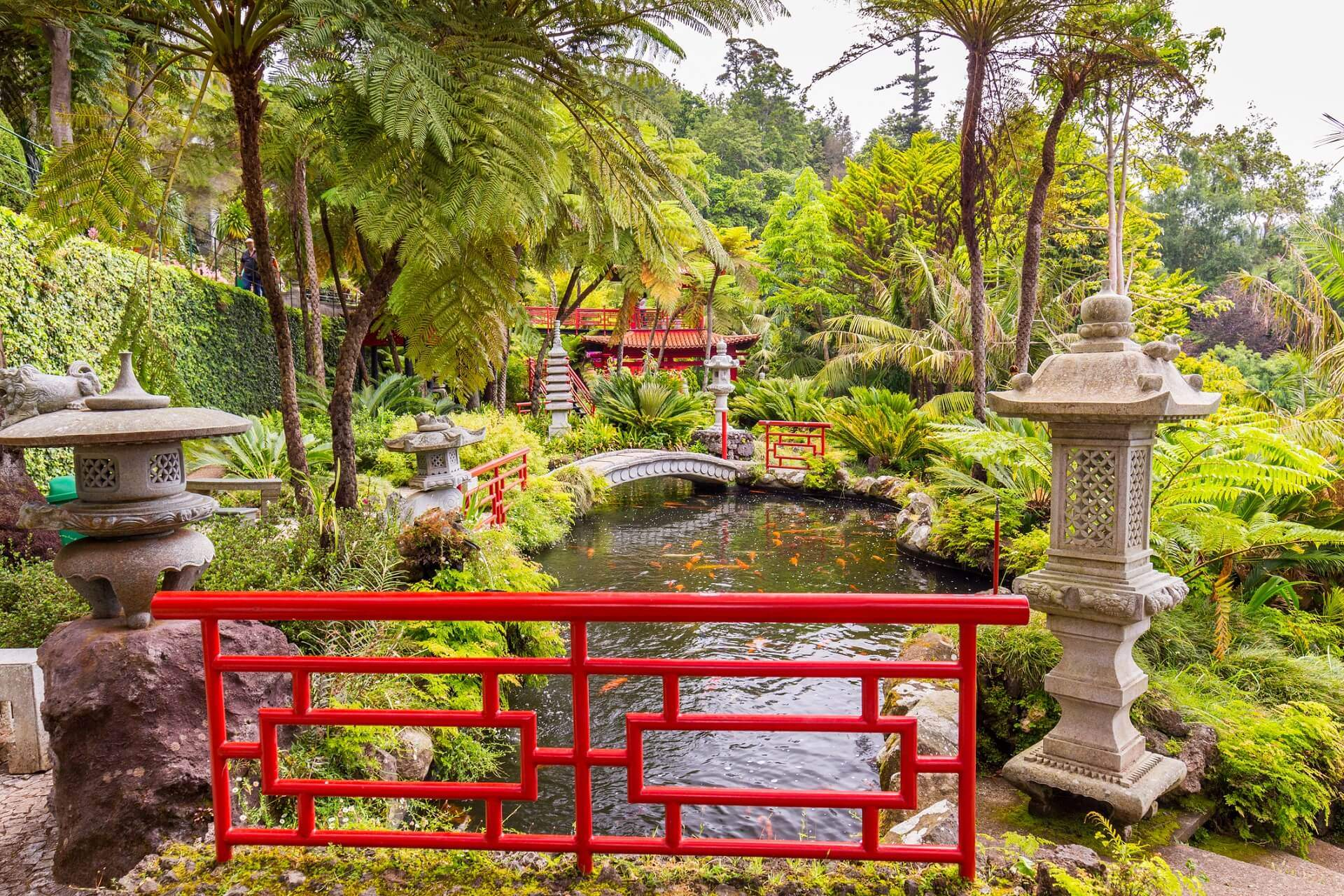 Monte Palace Tropican Garden in Funchal Madeira island EDITORIAL ONLY DaLiu iStock