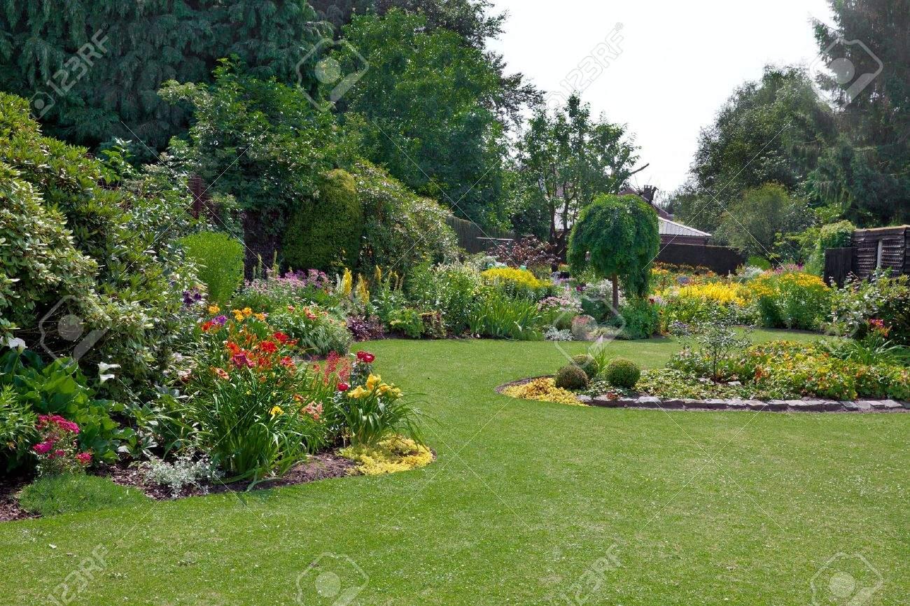 Schöner Garten Elegant Stock