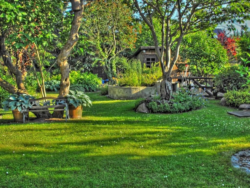 Schöner Garten Inspirierend Mein Schöner Garten Hdr Foto & Bild