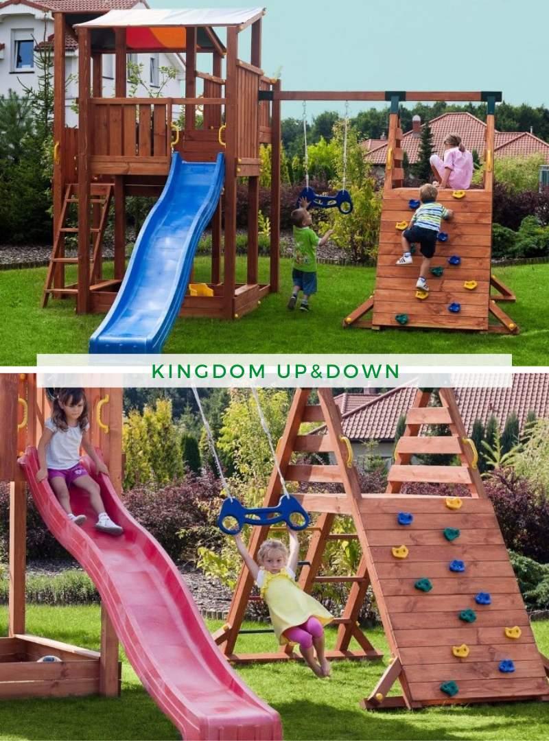 Spielgeräte Garten Inspirierend Kinderspielgerät Kingdom Up&down