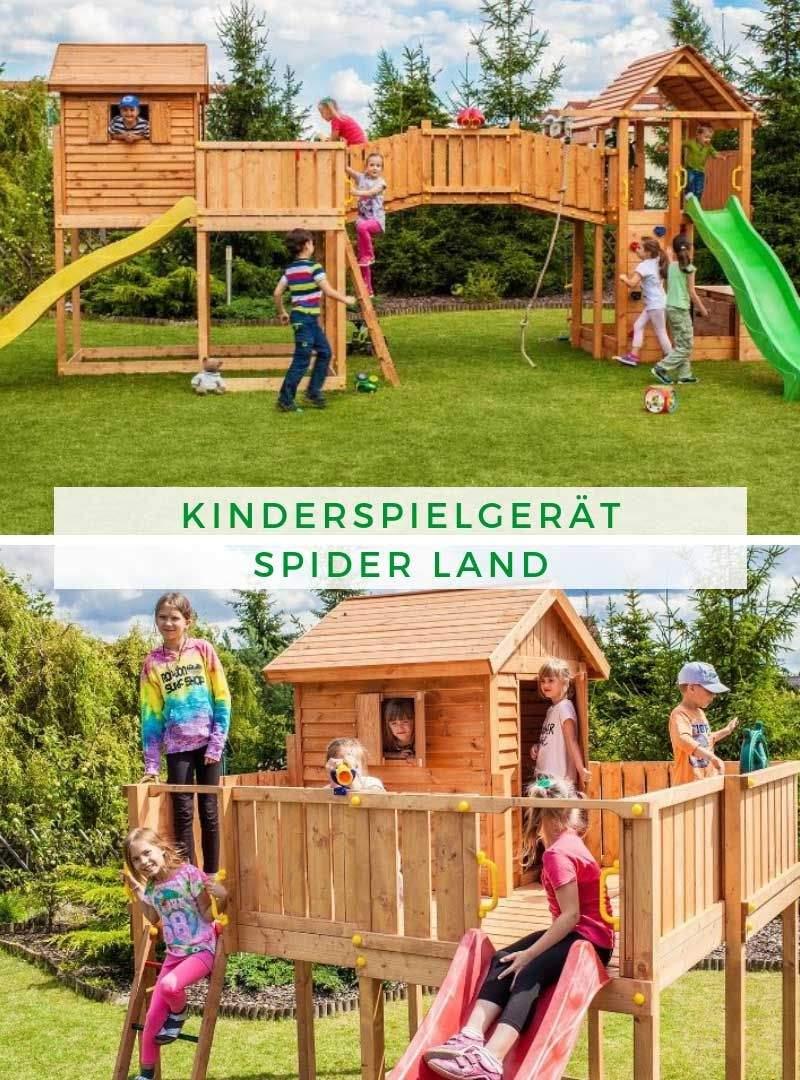 Spielgeräte Garten Neu Maxi Set Kinderspielgerät Spider Land