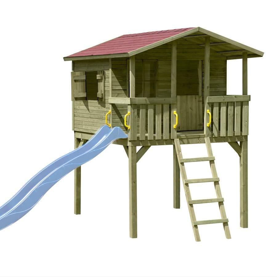 Spielhaus Garten Luxus Stelzenhaus Spielhaus tom Mit Terrasse