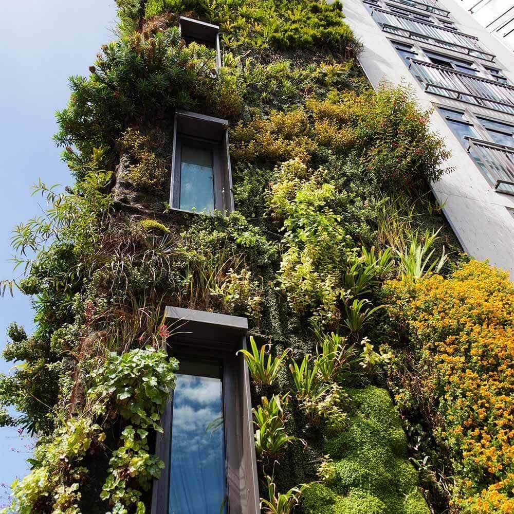 Vertikaler Garten Genial Vertikale Gärten