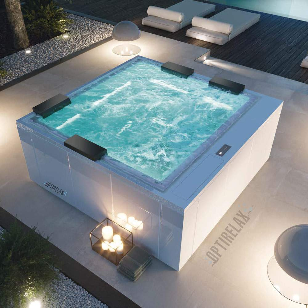 Whirlpool im Garten OPTIRELAX Luxux GT SPA WHIRLPOOL PM235