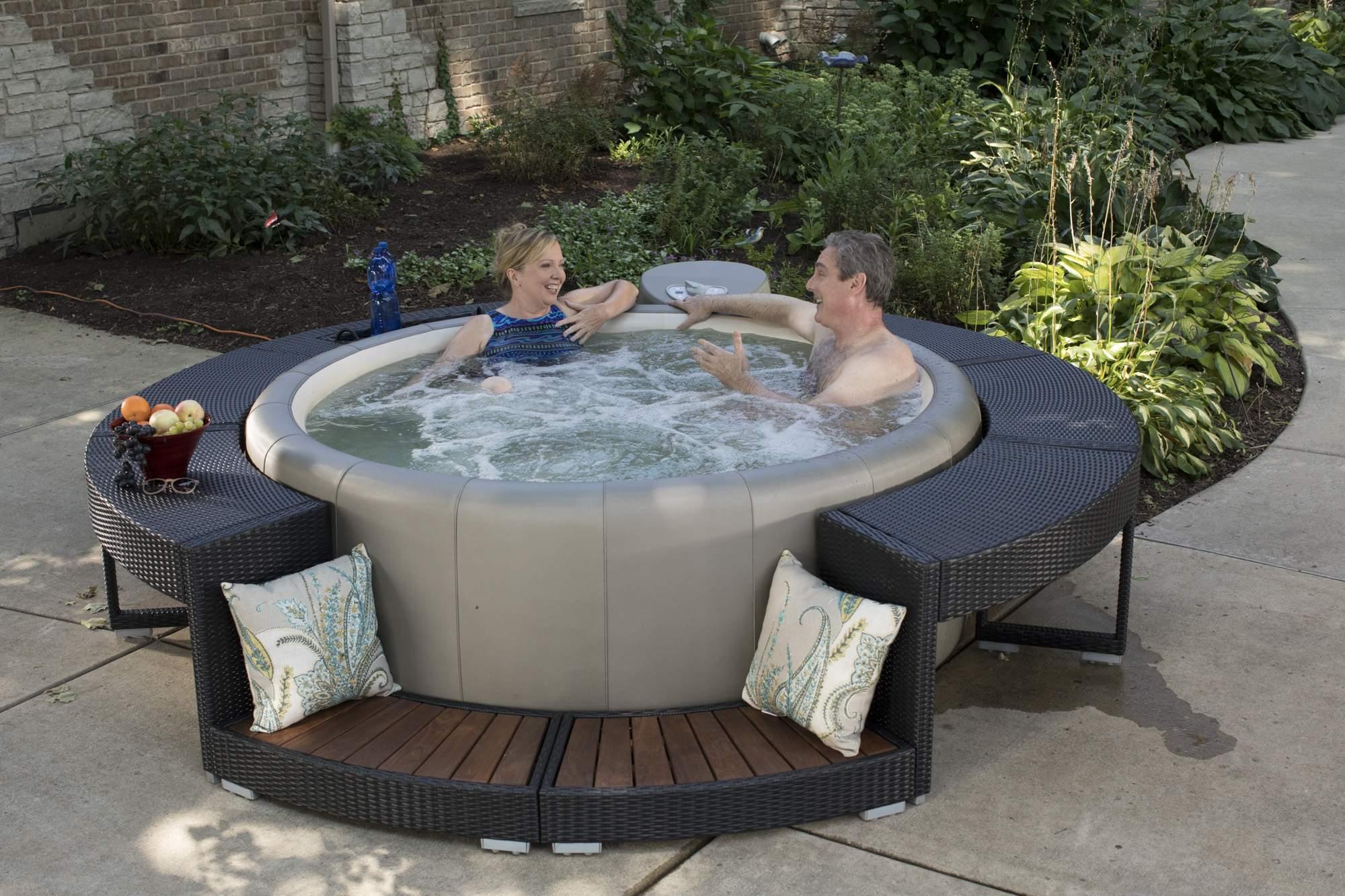 Whirlpool Garten Elegant softub Whirlpool Resort In Leathertex™ Oder Syntex™