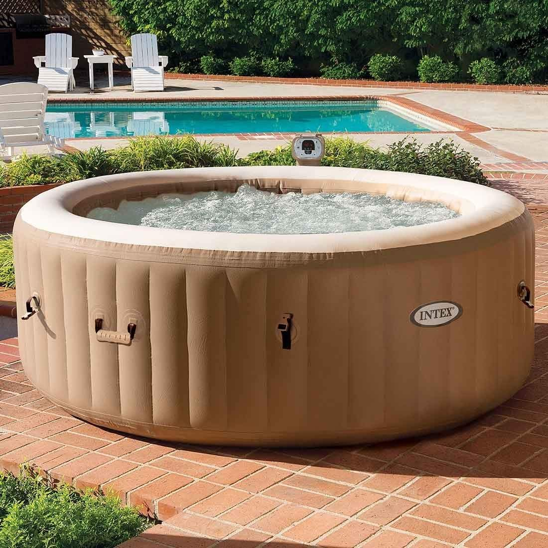 Whirlpool Garten Genial Intex Pure Spa Bubble Whirlpool ˜196×71 Cm