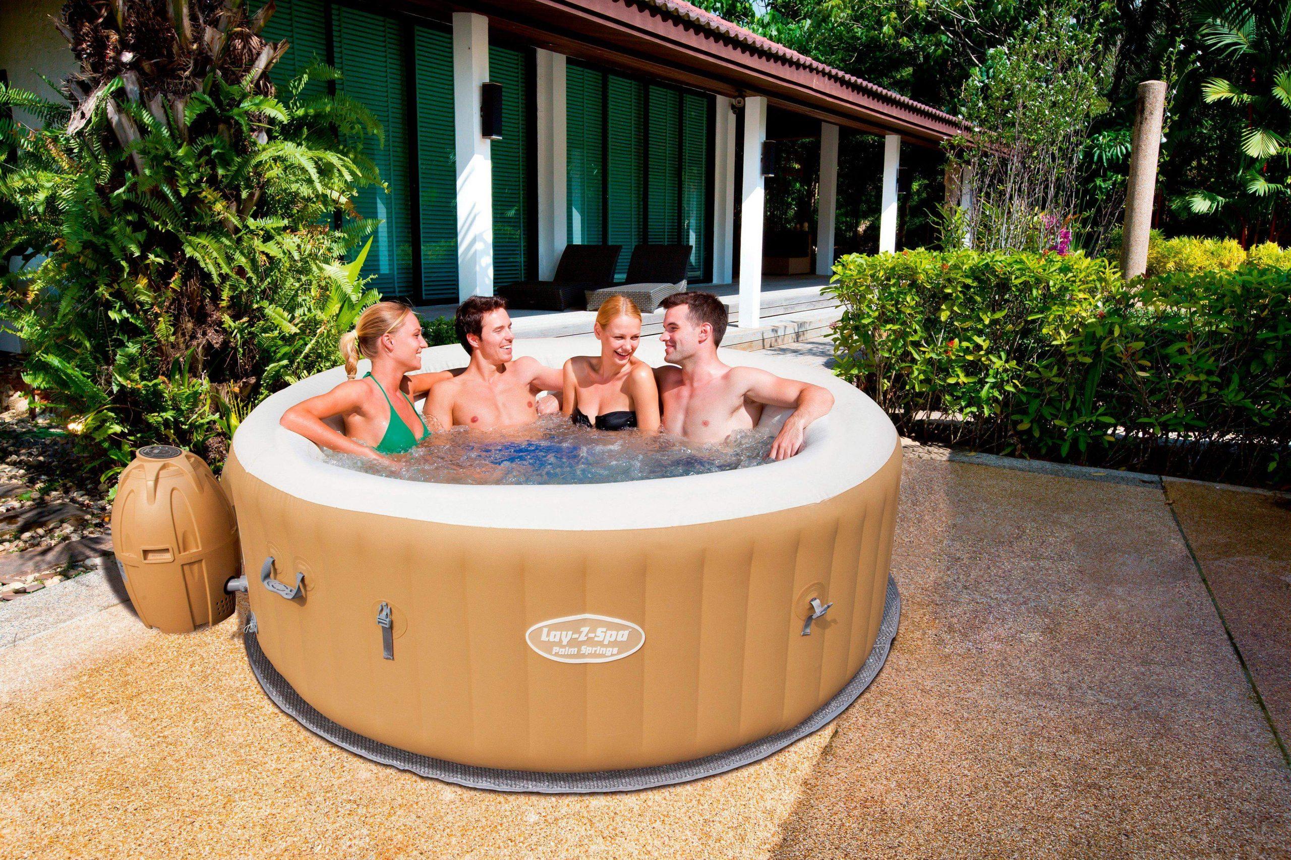 Whirlpool Garten Luxus Bestway Whirlpool Lay Z Spa™ Palm Springs Airjet™ ˜xh 196×71 Cm