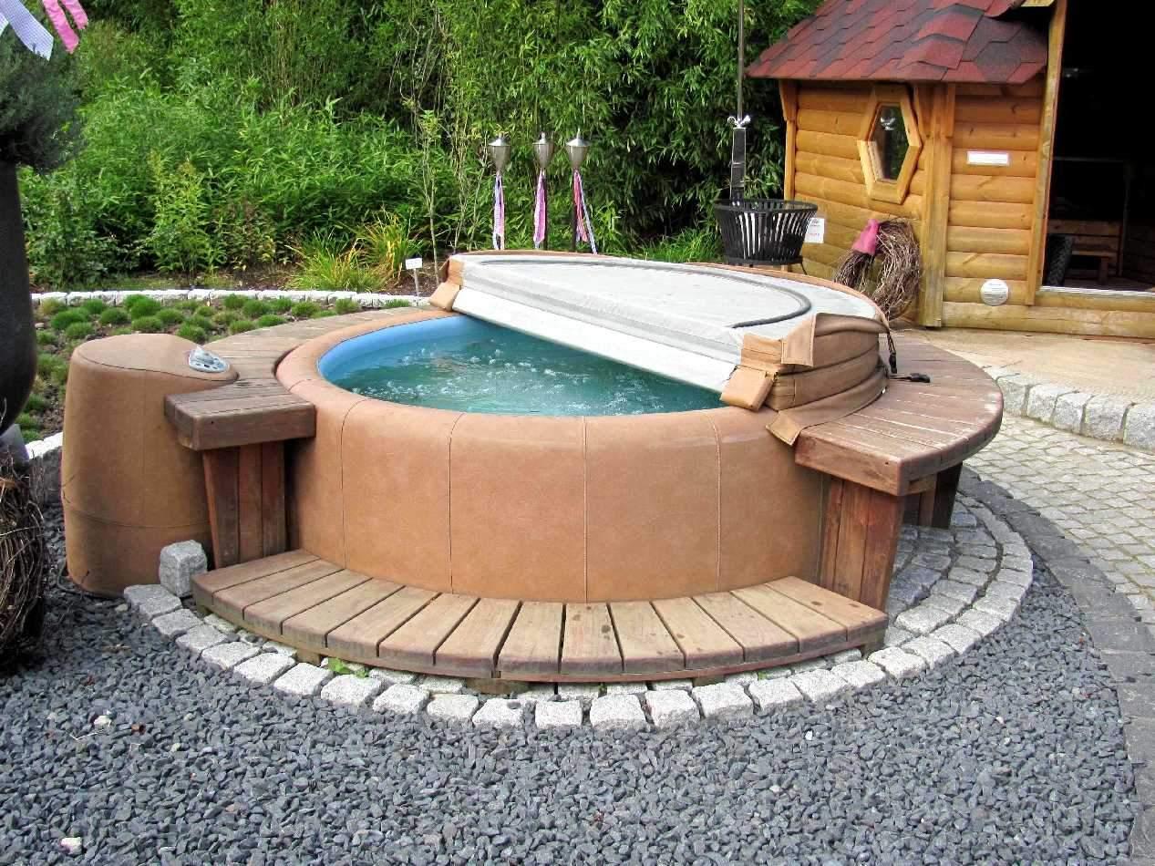 a1x Wellnessgarten Whirlpool im Freien Park der Gaerten Bad Zwischenahn von Gaertnereien 19 09 11 108