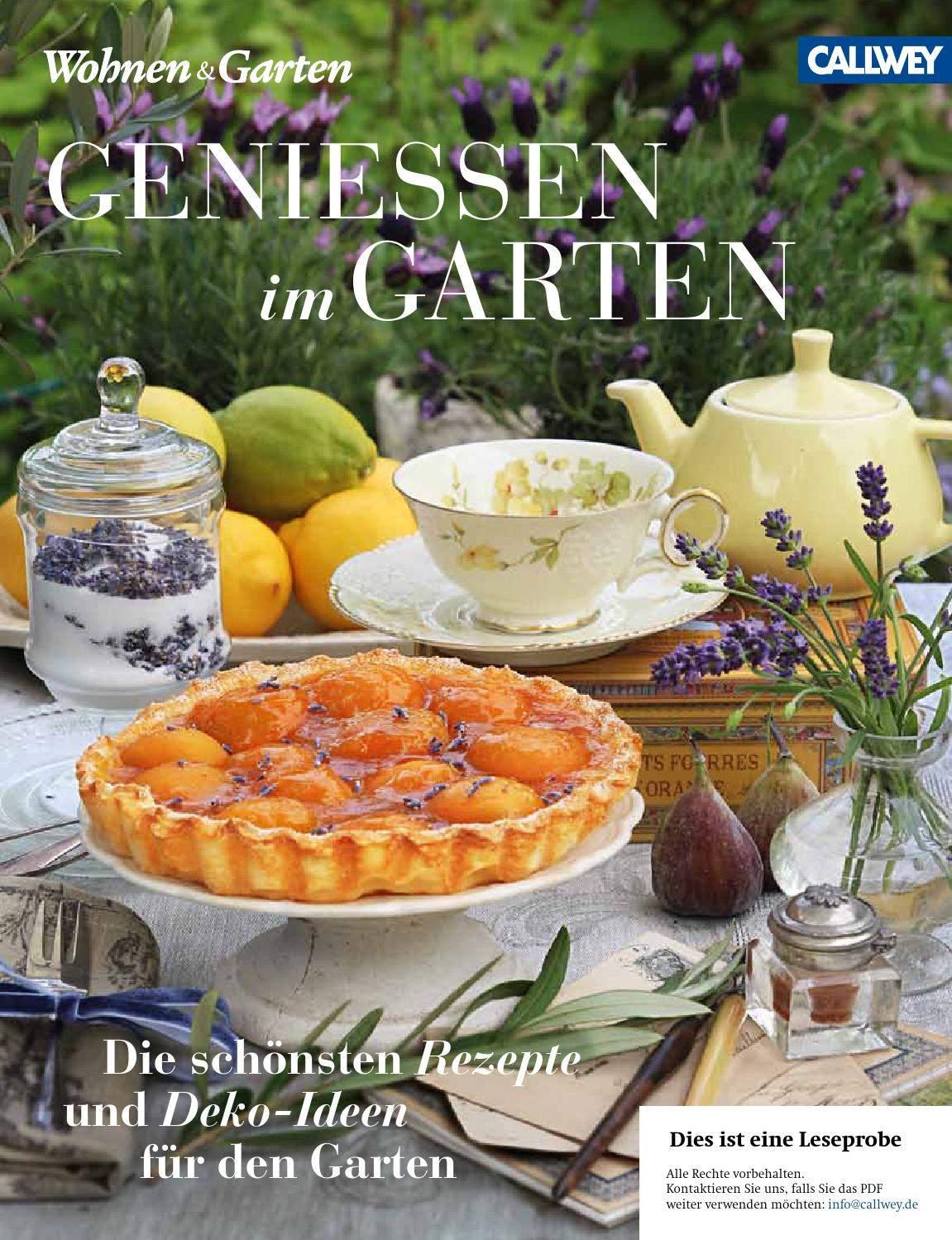 Wohnen Und Garten Neu Wohnen & Garten Genießen Im Garten by Callwey Gmbh issuu