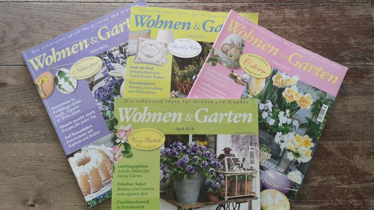 Wohnen Und Garten Reizend Zeitschrift Wohnen & Garten März April 4 Heft