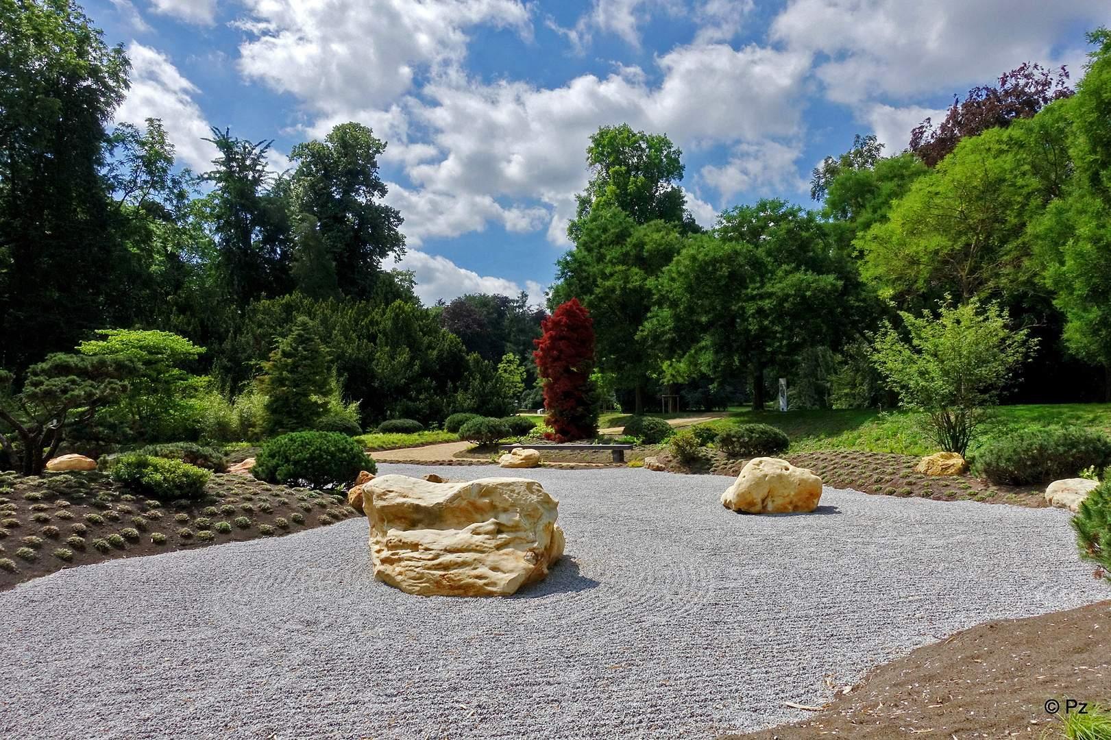 Zen Garten Elegant Schloss Dyck Im Zen Garten Foto & Bild