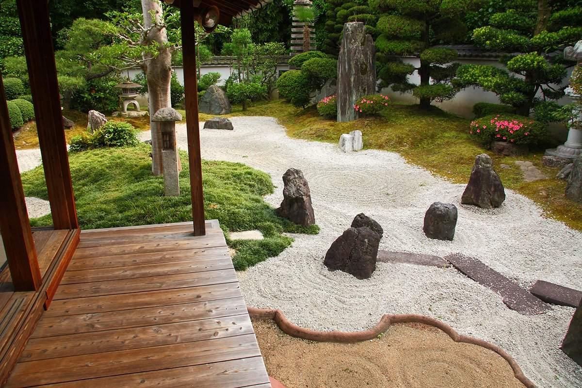 zen garten japanisch gestalten
