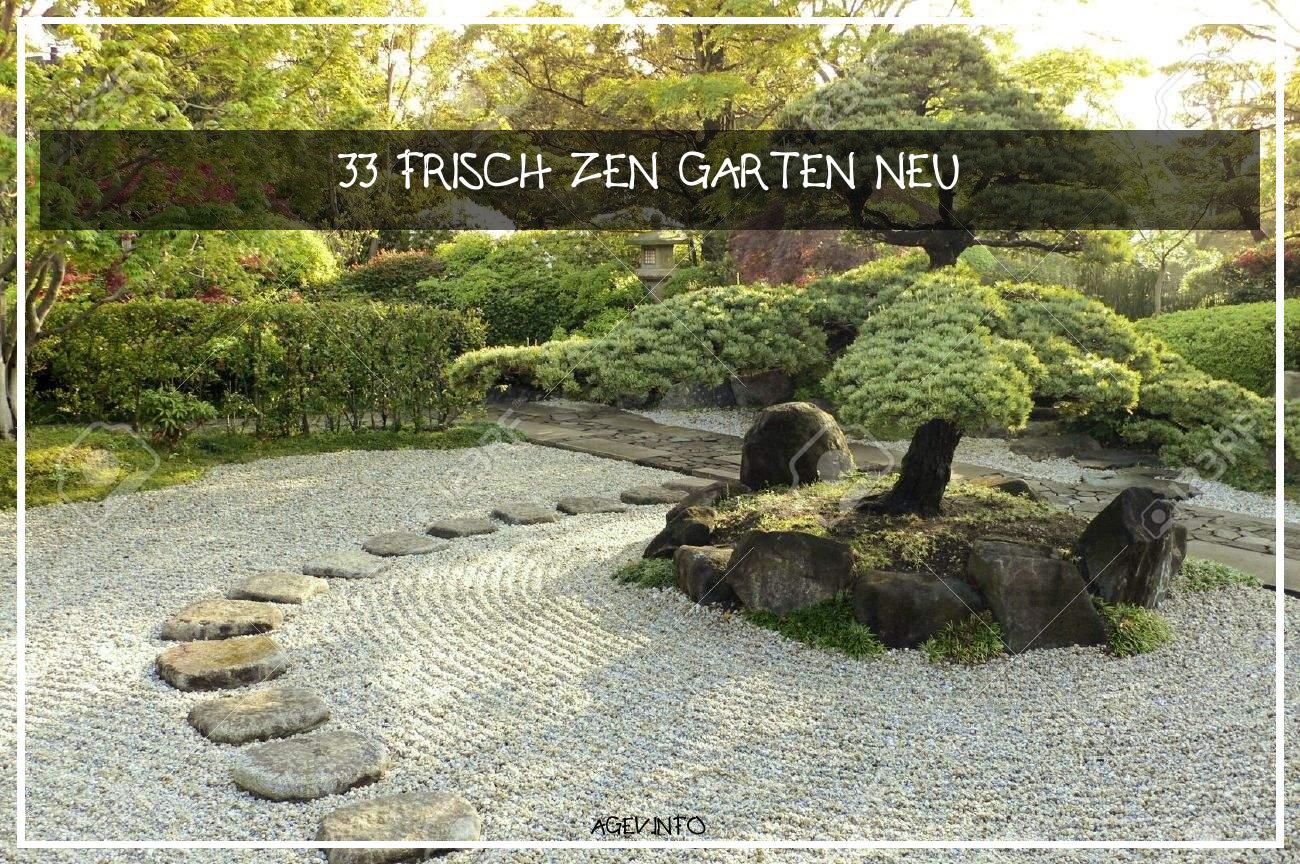 Zen Garten Inspirierend Stock