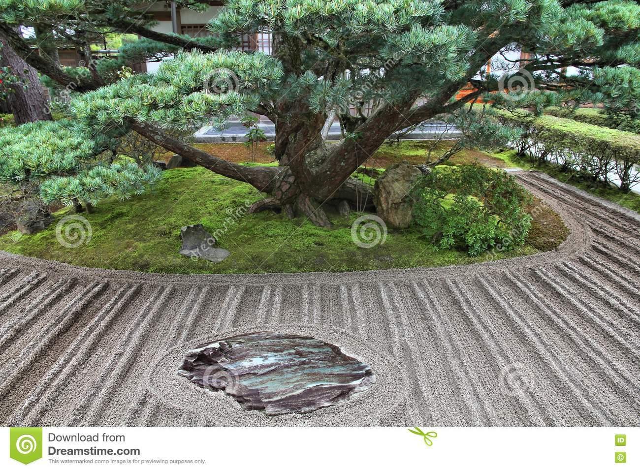 Zen Garten Inspirierend Zengarten Buddhismus Stockfoto Bild Von Kultur