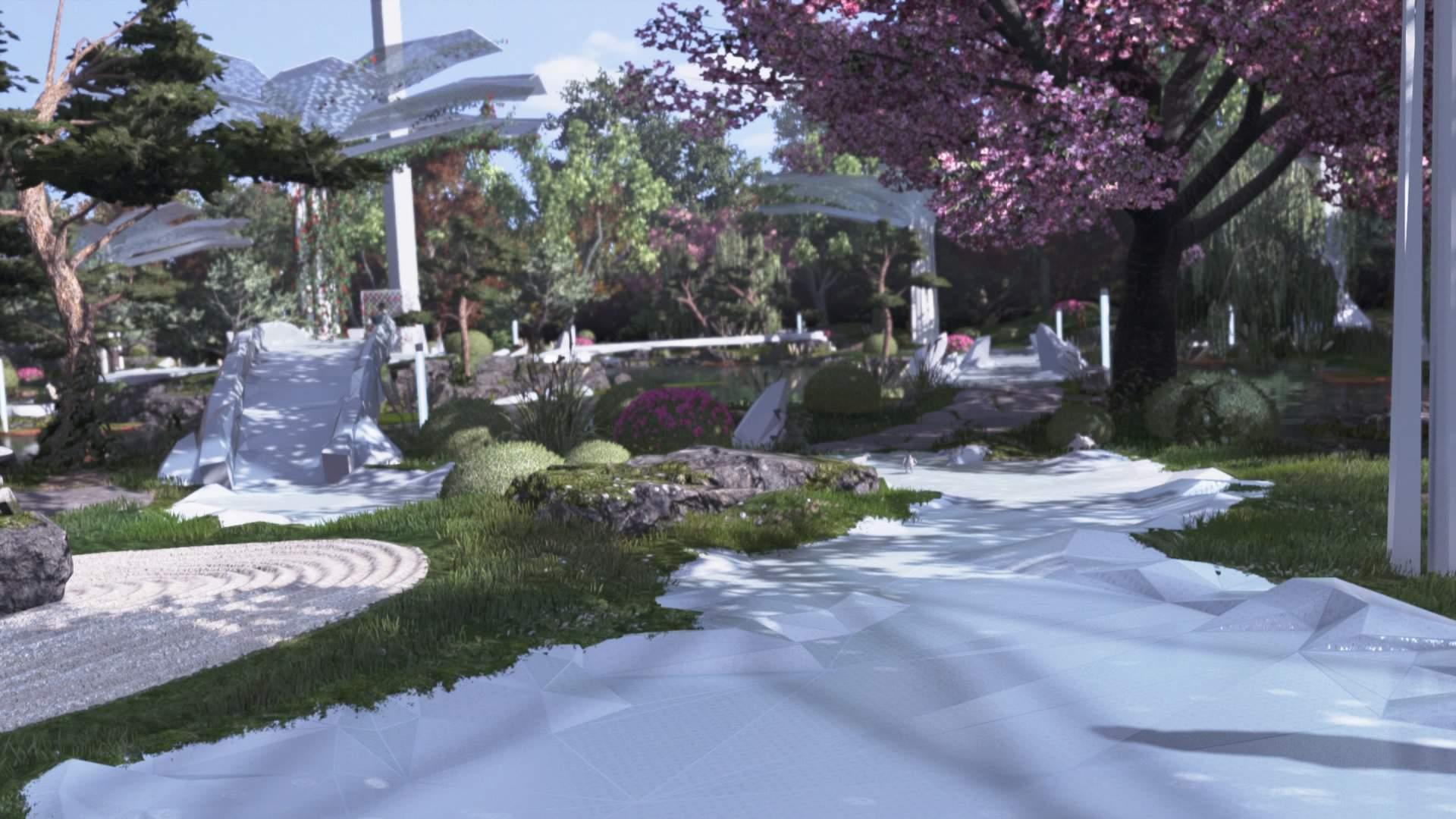 Zen Garten Reizend Zen Garten Detroit Be E Human Wiki